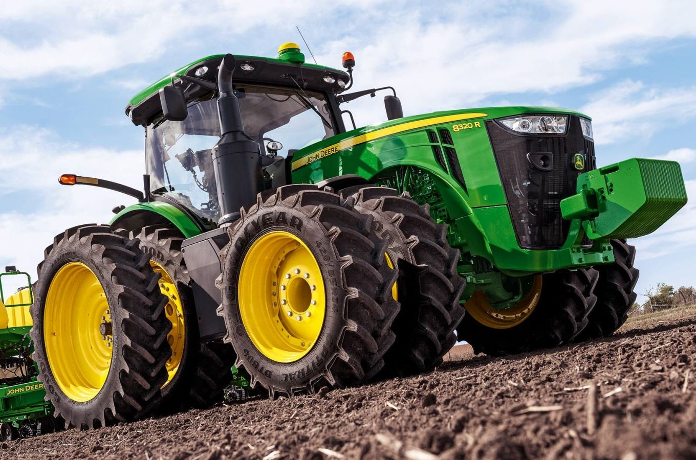 GPS Tracking for Farm Equipment